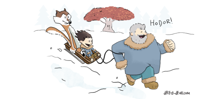 Mashup: Game of Thrones & Calvin and Hobbes
