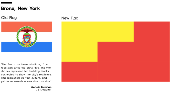 See 13 City Flags Get A Modern, Minimalist Makeover