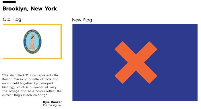 Flag Redesign: Brooklyn