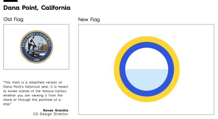 Flag Redesign: Dana Point