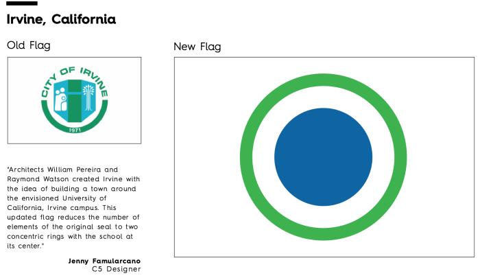 Flag Redesign: Irvine