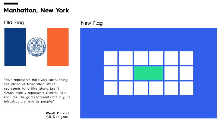 Flag Redesign: Manhattan