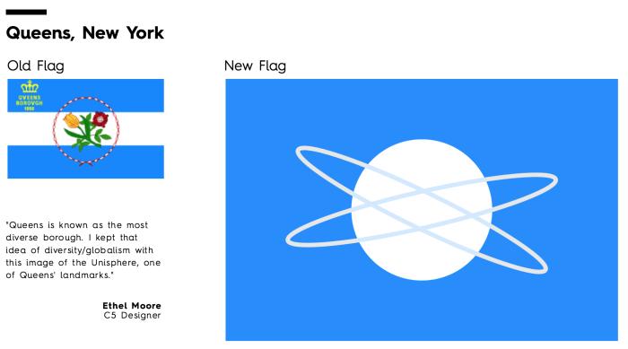 Flag Redesign: Queens