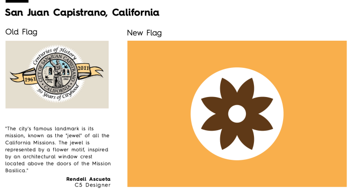 Flag Redesign: San Juan Capistrano