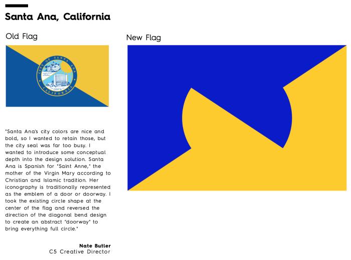 Flag Redesign: Santa Ana