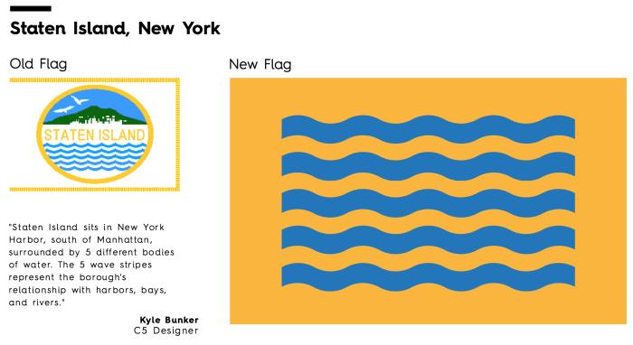 Flag Redesign: Staten Island
