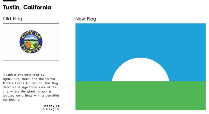Flag Redesign: Tustin