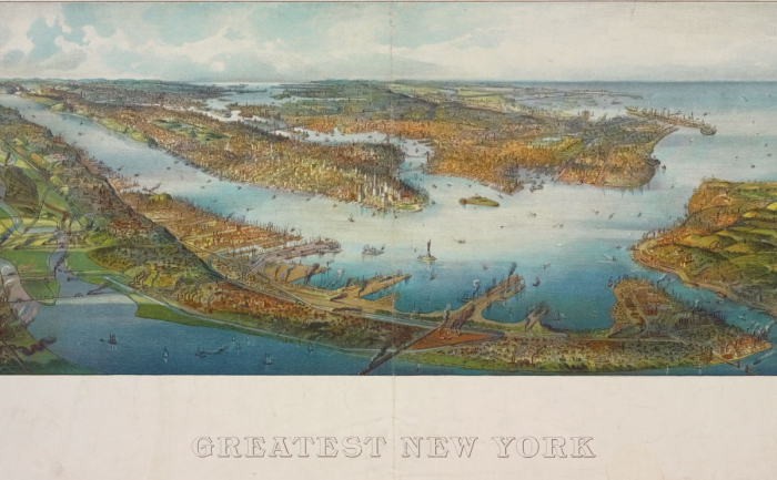 Henry Wellge: Greatest New York, 1911