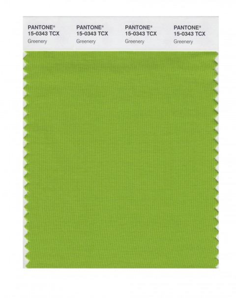 pantone color of the year: greenery