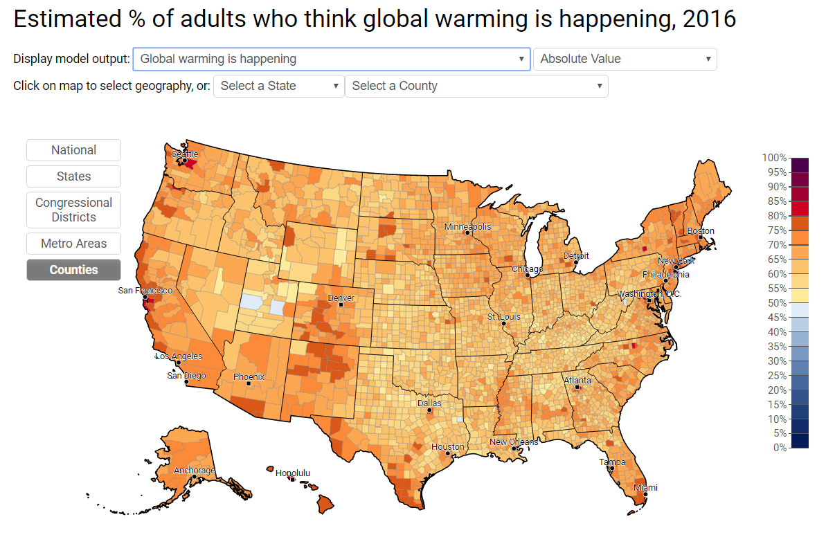 Climate Change: Counties