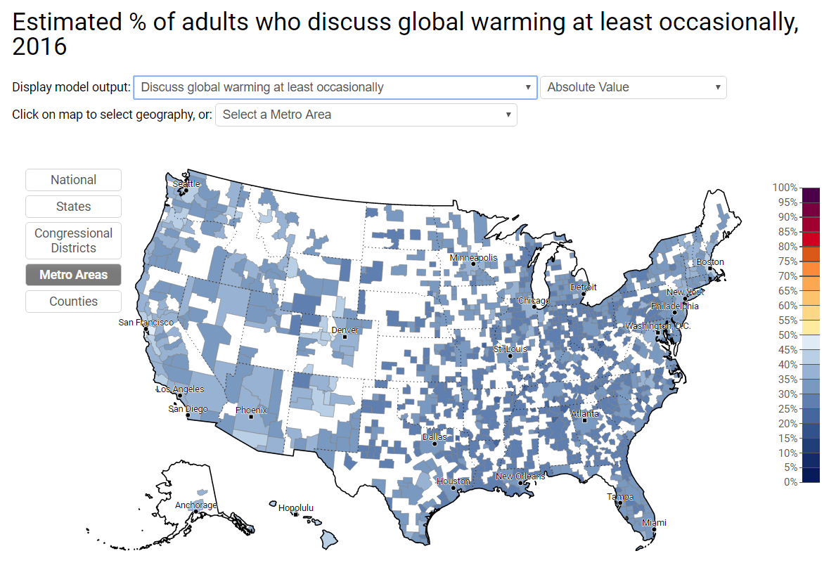 Climate Change: Metro Areas