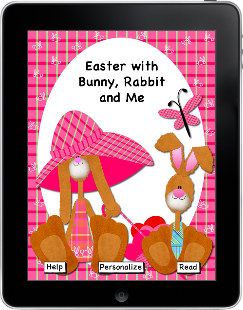 Easter with Bunny, Rabbit, and Me eBook eBook App for iPhone and iPad