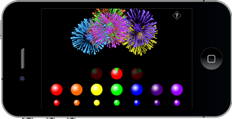 About Fireworks Blast-Off App for iPhone