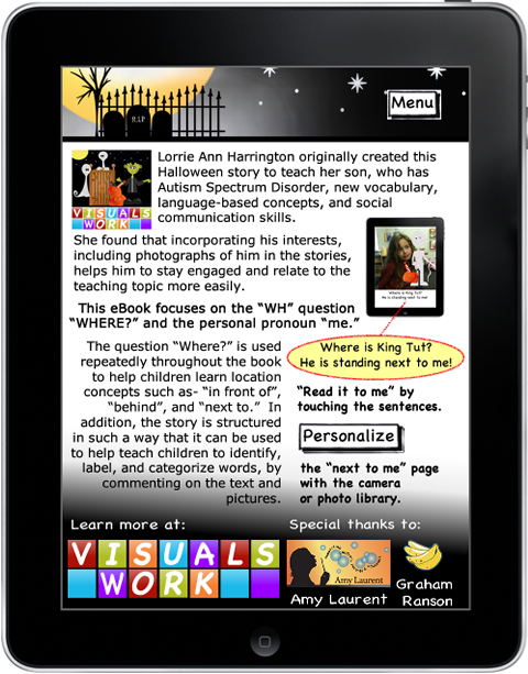 About Halloween eBook App for iPhone and iPad