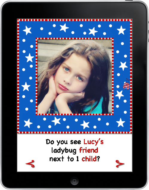 4th of July with Lucy and her ladybug friends eBook App (iPad)