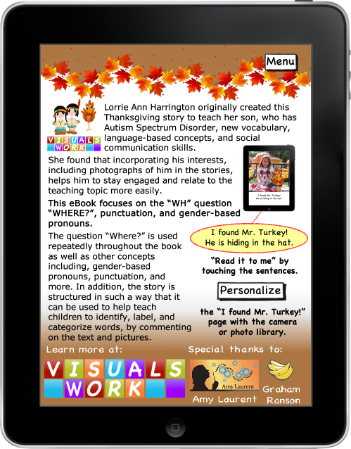 Mr. Turkey, where are you? eBook eBook App for iPhone and iPad