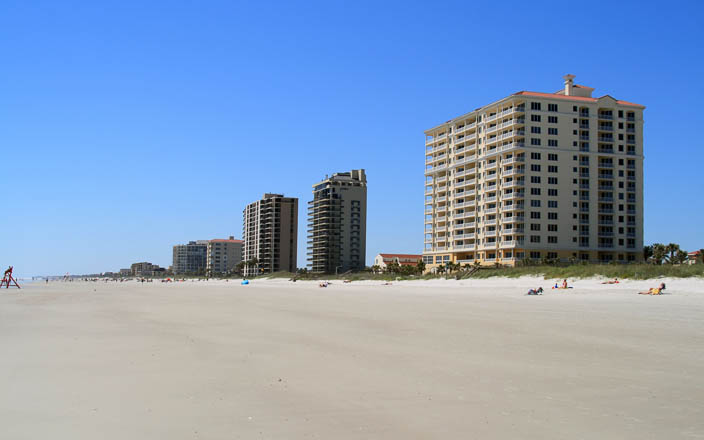 Jacksonville Beach in Duval County FL