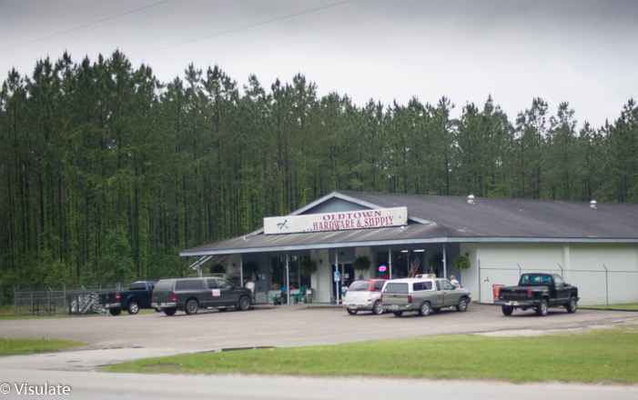 Old Town in Dixie County FL (Old Town 4/5)