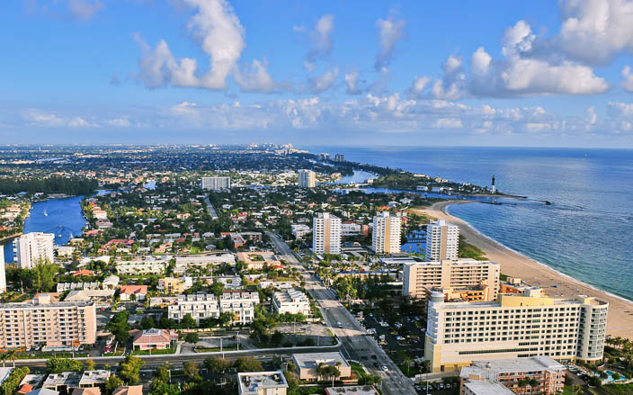 Pompano Beach in Broward County FL