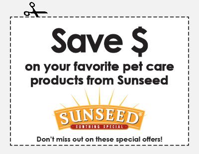 Sunseed Rebate Offers