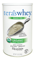 Image of Tera's Whey Organic Grass Fed Plain Whey Protein