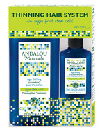 Image of Andalou Naturals Thinning Hair Treatment System