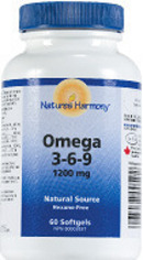 Image of Nature's Harmony Omega 3 6 9 1200 mg