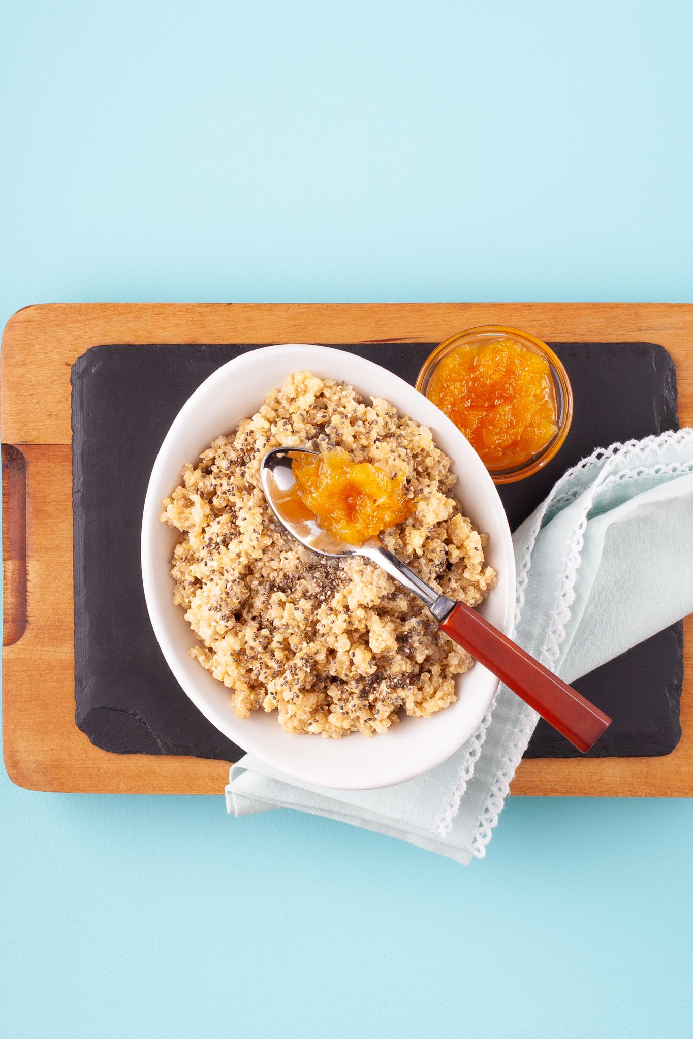 Quinoa Orange Porridge