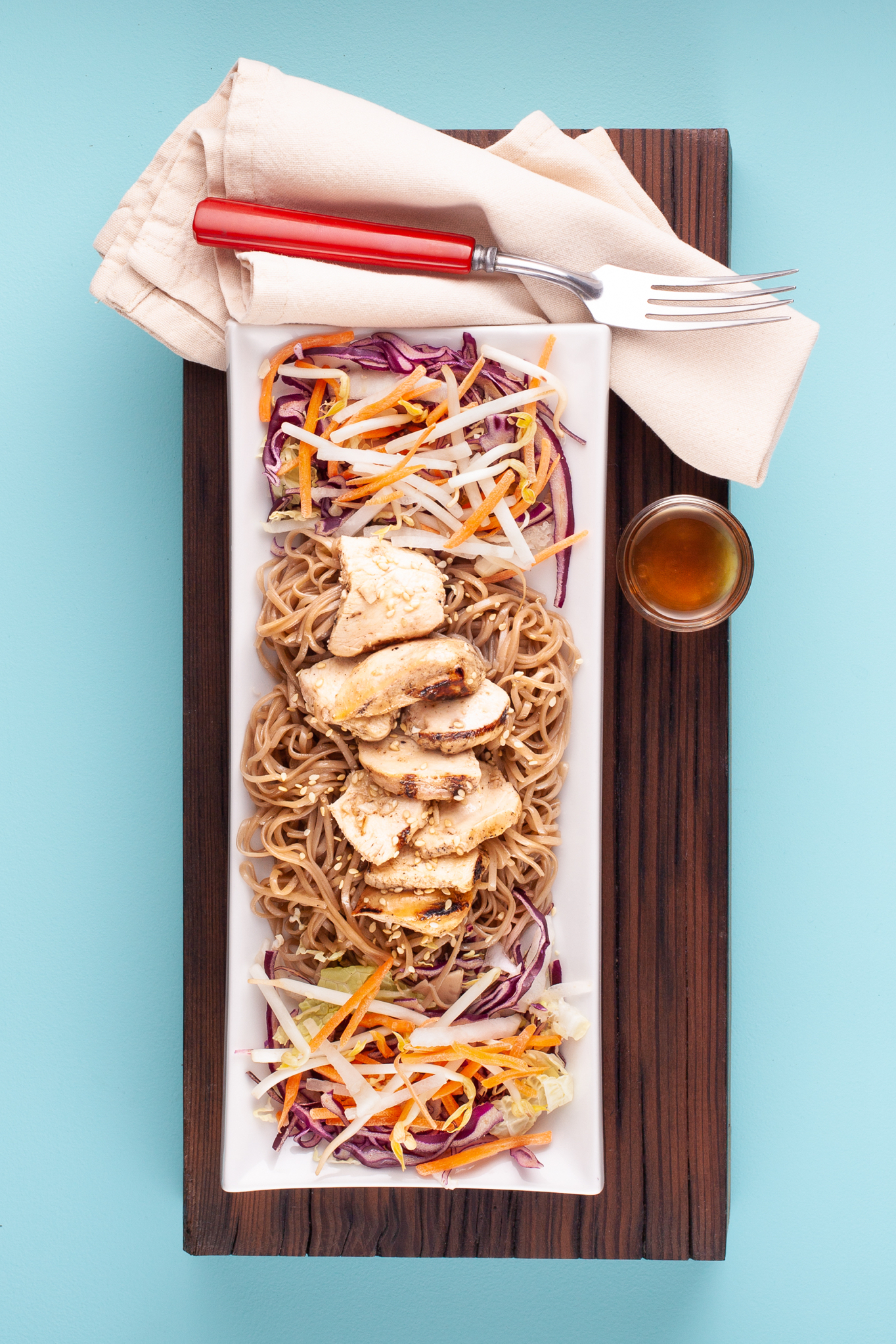 Chicken and Soba Noodle Bowl