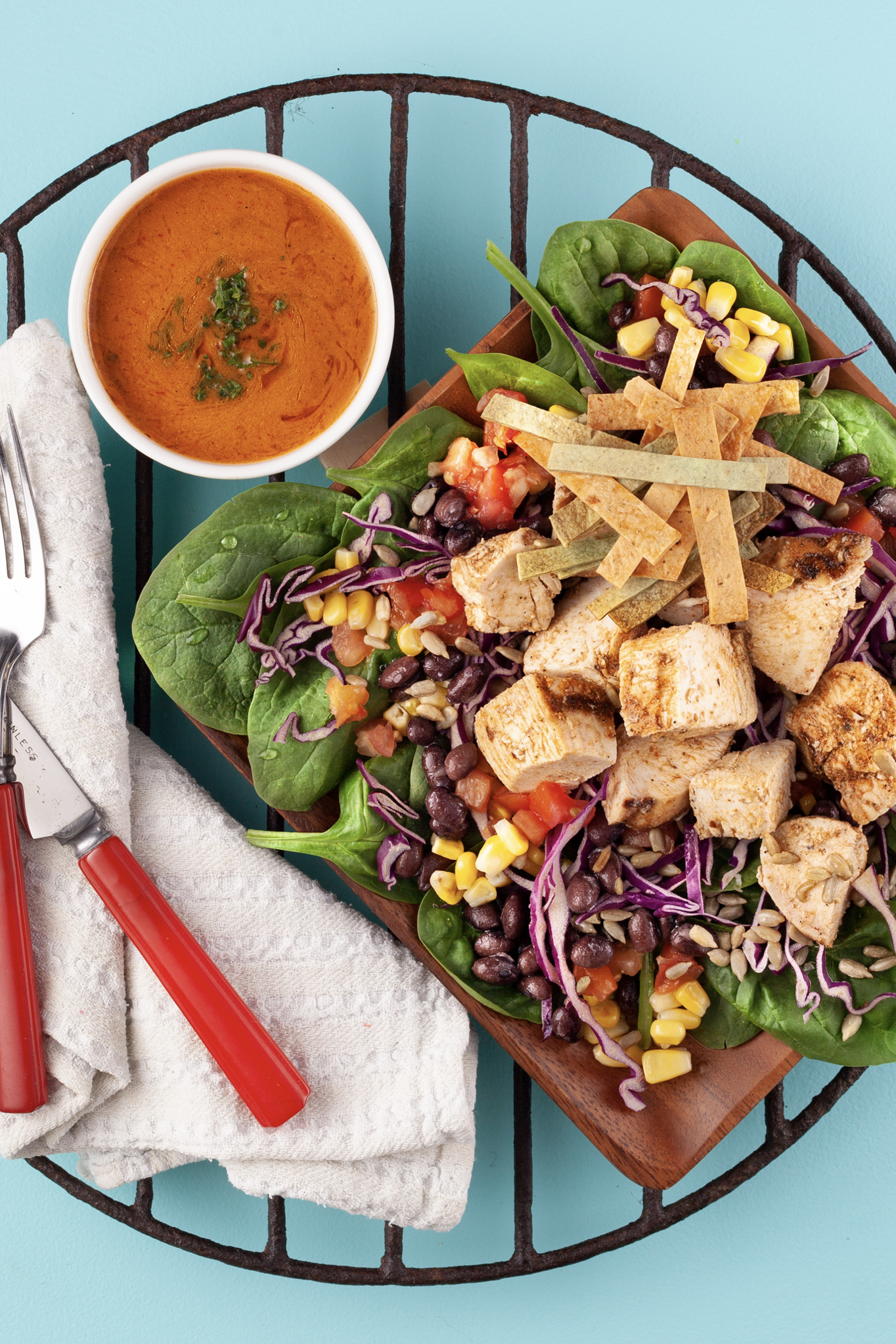 South West Grilled Chicken Salad