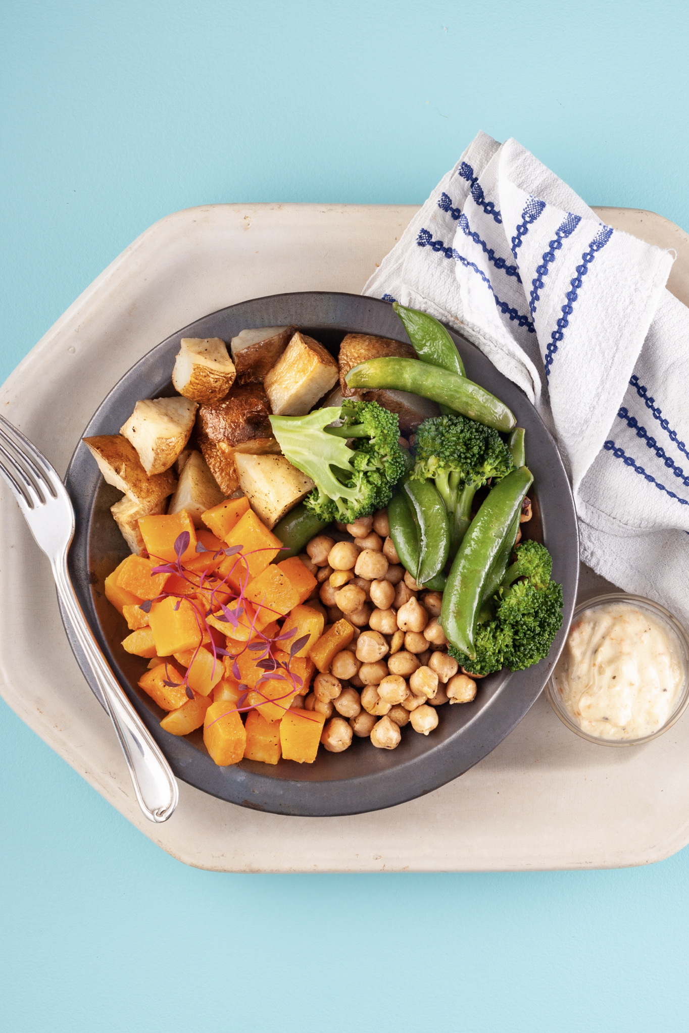 Butternut Squash and Chickpea Bowl