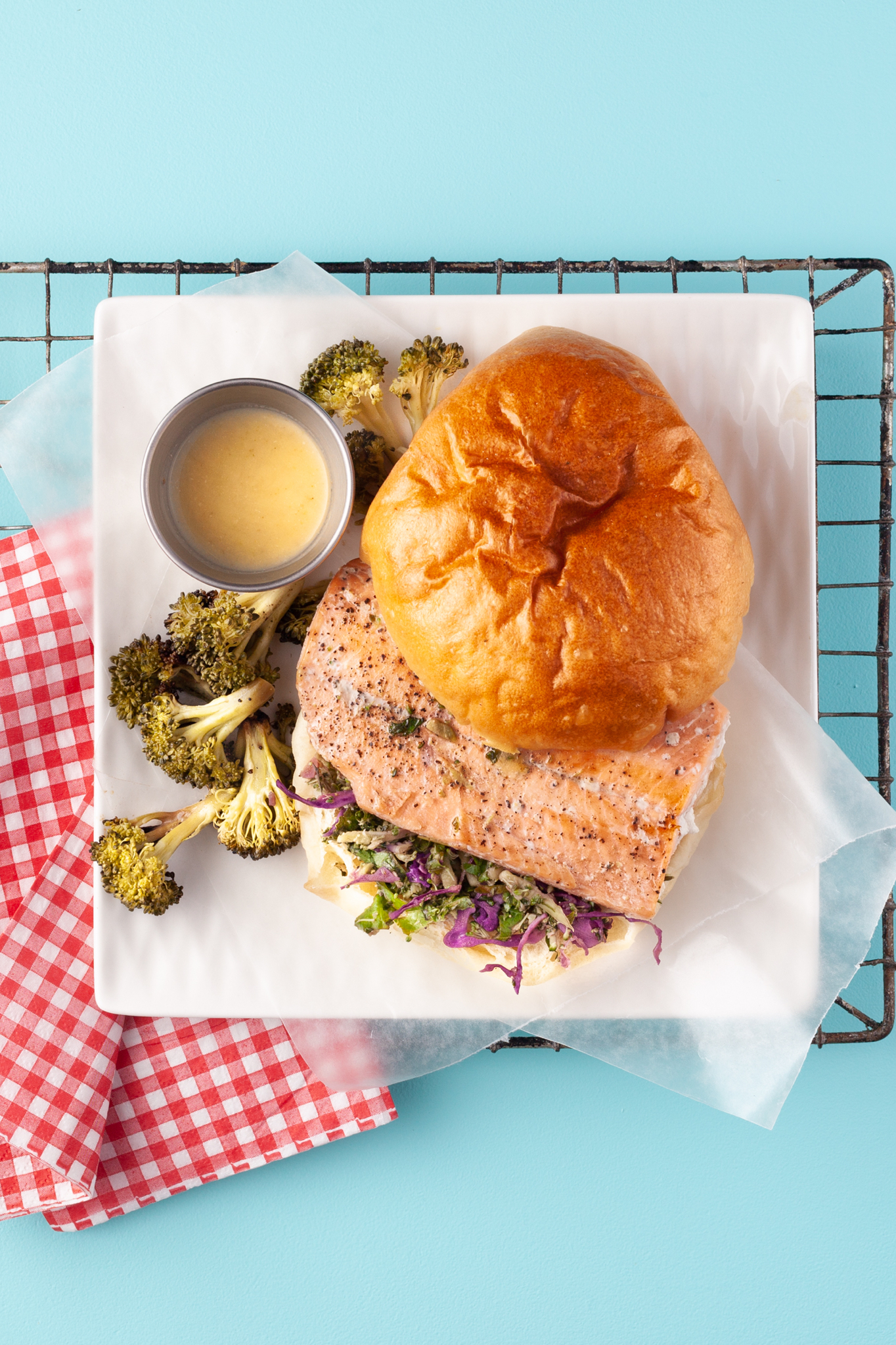Kale Wild Salmon Burger