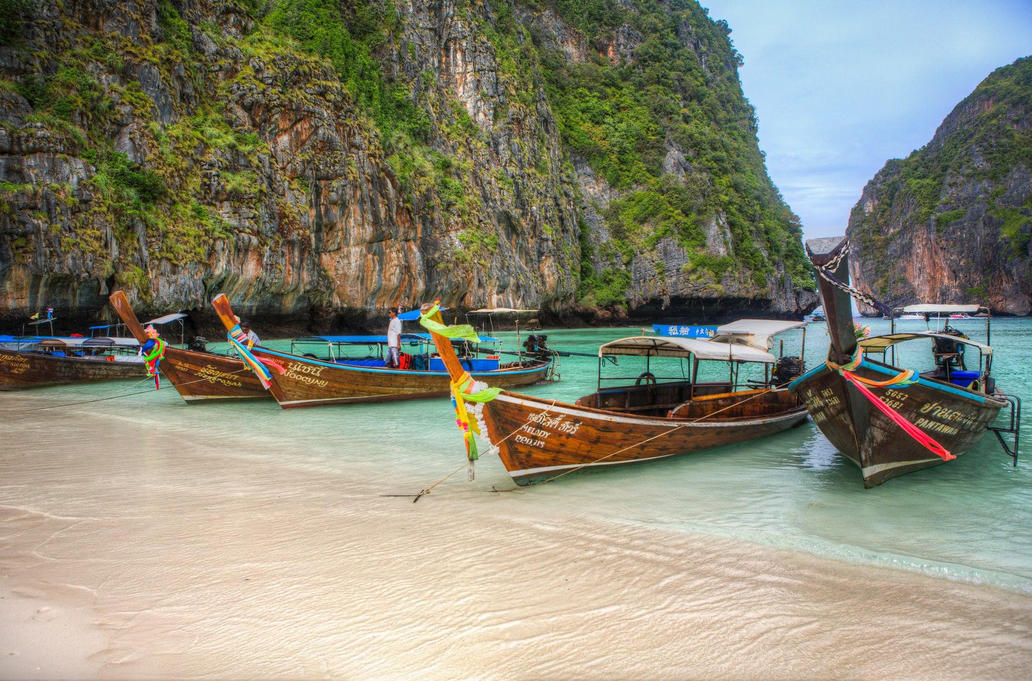 Phi Phi Island - Hoteles y Guía de Viaje a las islas Phi Phi