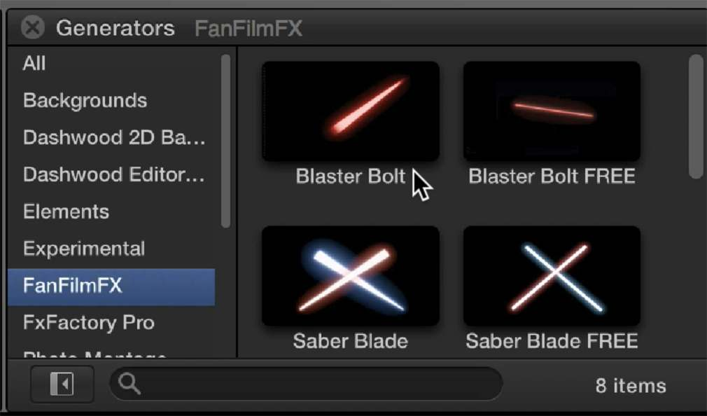 Star Wars-Inspired Free Visual Effects NLE Plugins from FanFilmFX |