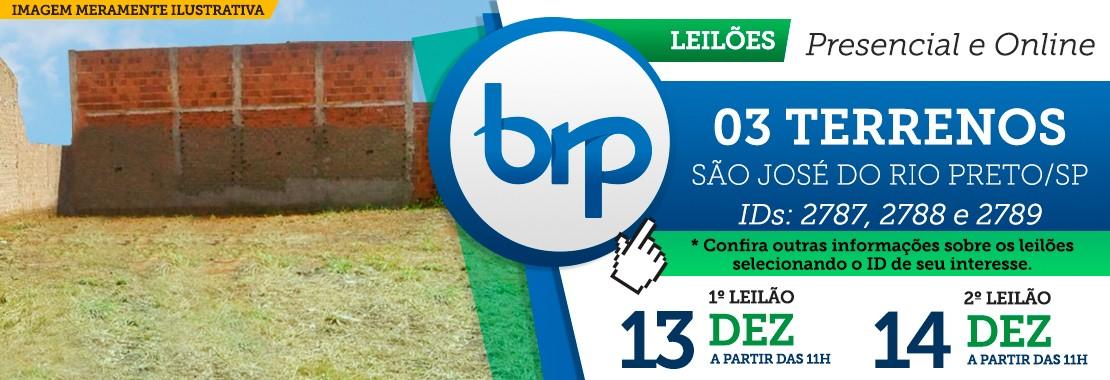Leilão de Terrenos em São José do Rio Preto/SP