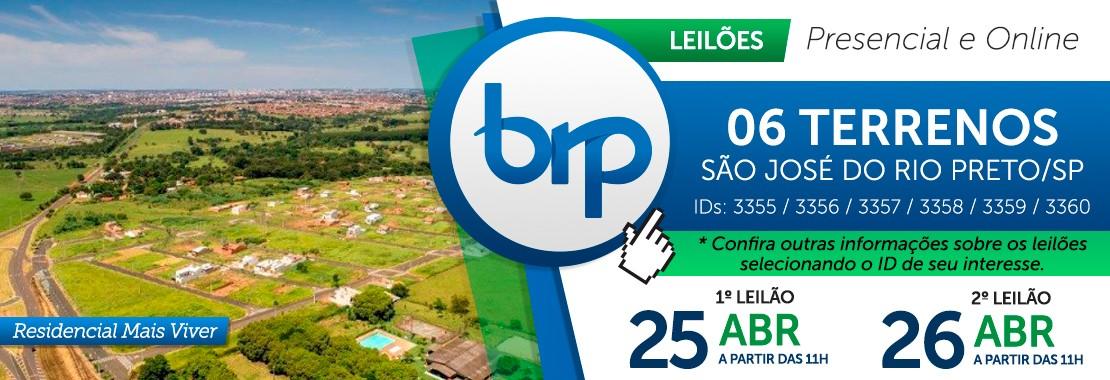 Leilão BRP - São José do Rio Preto/SP