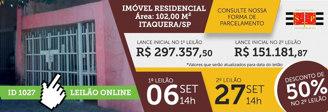 Leilão Judicial ID 1027
