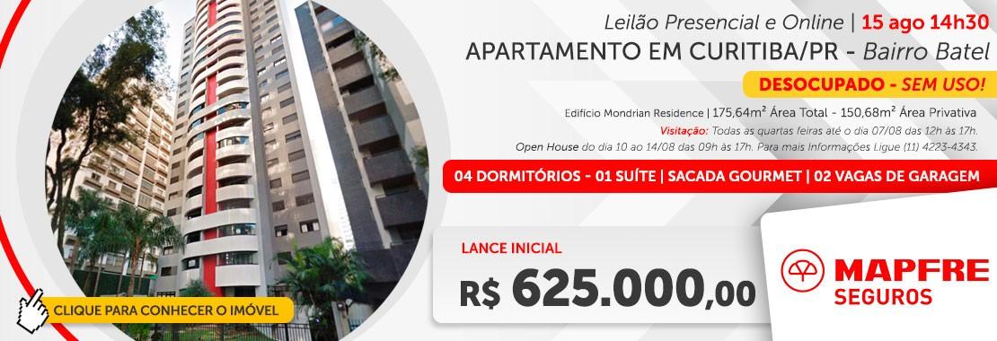Mapfre Seguros - Apartamento em Curitiba/PR