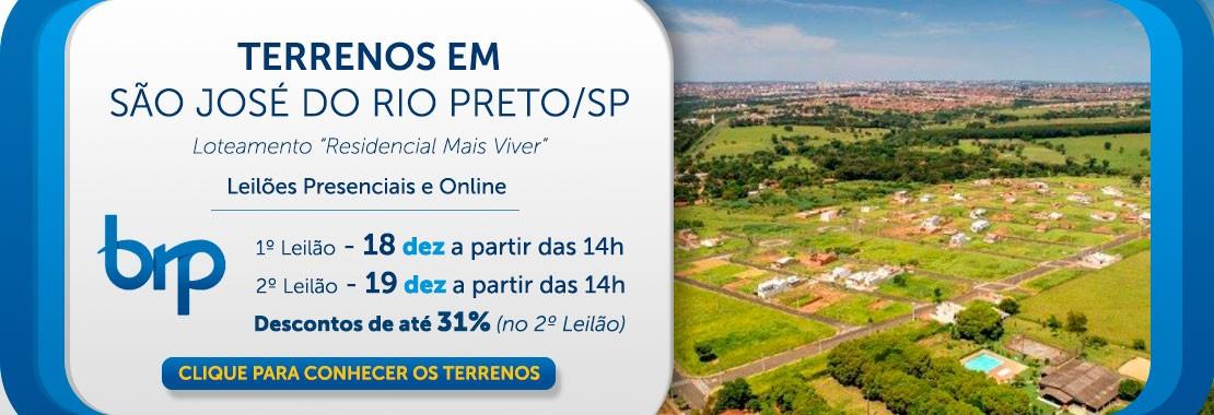 BRP - Terrenos São José do Rio Preto//SP