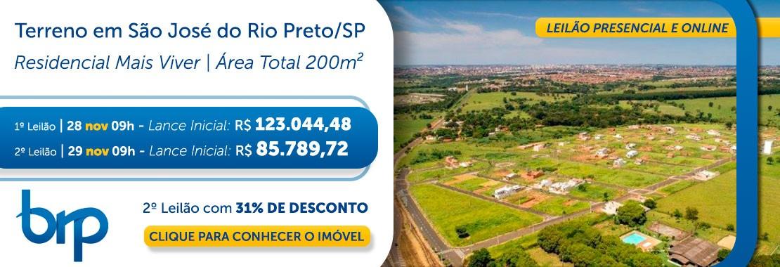 BRP - Terreno São José do Rio Preto//SP