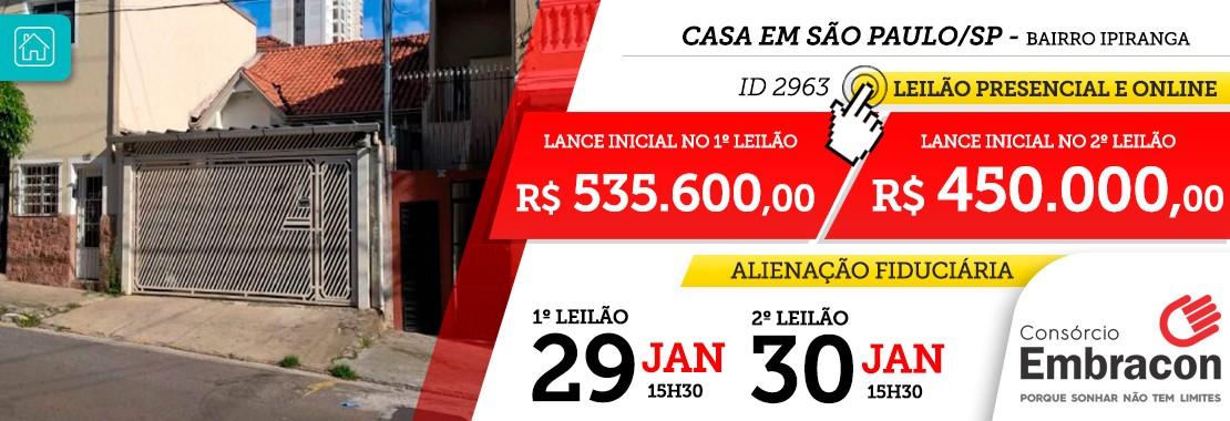 Leilão Embracon