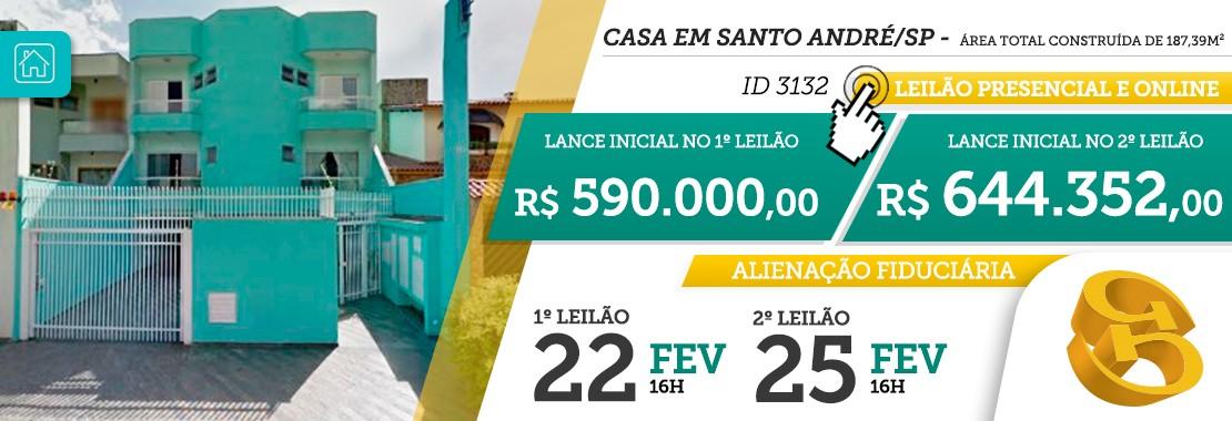 Leilão Imóvel em Santo André/SP