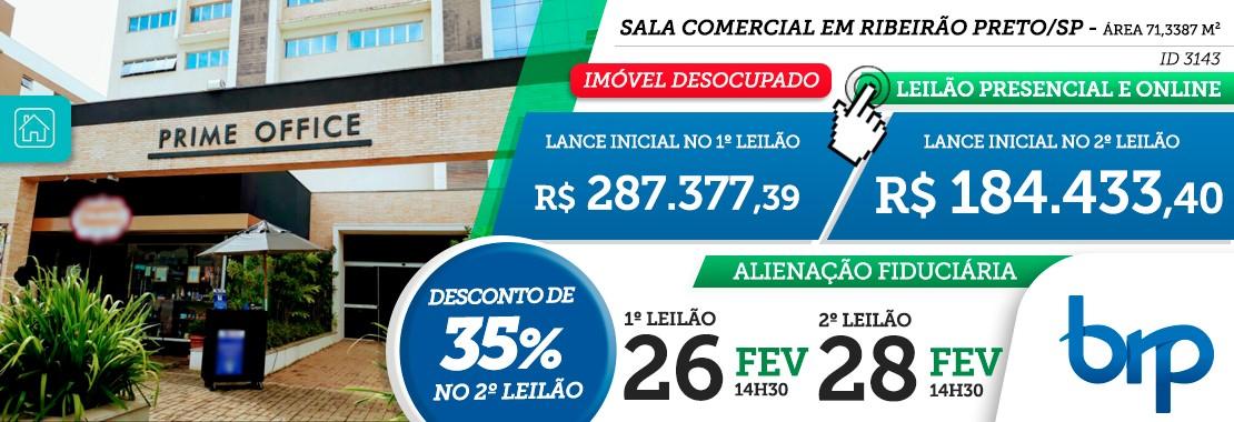 Leilão BRP - Sala Comercial