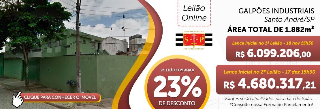 Galpão Industrial em Santo André/SP