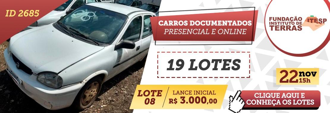 Leilão de Carros Documentados