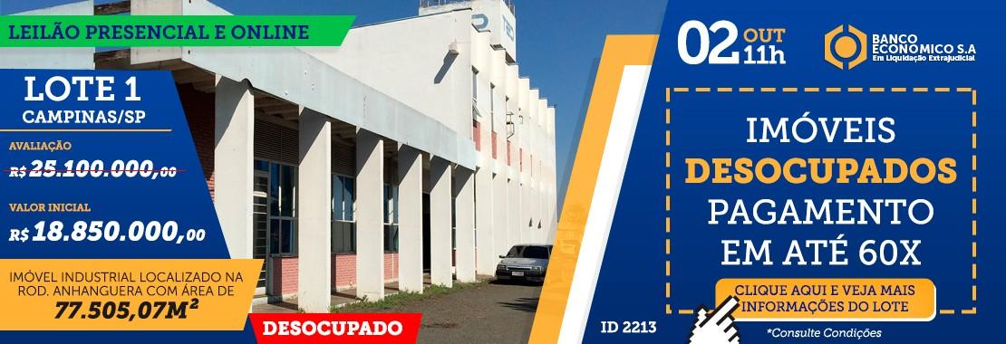Leilão Banco Economico Lote 1