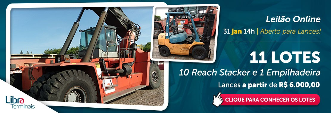 LIBRA - Reach Stacker / Empilhadeira