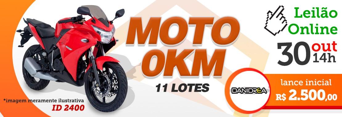 Leilão Motos OKM