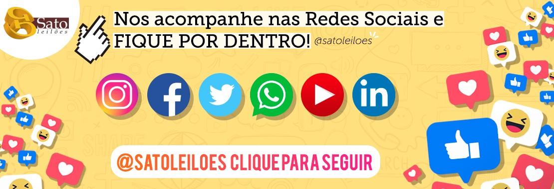 Mídias Sociais - Sato Leilões