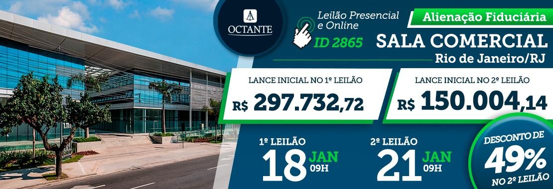 Leilão Sala Comercial RJ